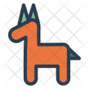 Baby Toy Rockinghorse Icon