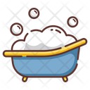 Baby Tub Tub Soap Icon