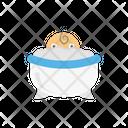 Baby Tub Shower Icon