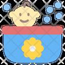 Bath Baby Tub Baby Shower Icon