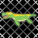 Baby Tyrannosaurus Rex Dinosaur Cartoon Dinosaur Icon