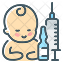 Baby Vaccination Child Vaccination Baby Icon