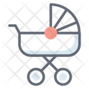 Baby Walker Baby Pushcart Baby Carriage Icon