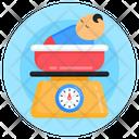 Baby Weight Machine Baby Weight Kid Weight Icon