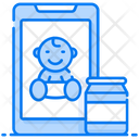 Babysitting Service Hotel Service Mobile Services Icon