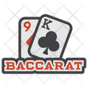 Baccarat Blackjack Playing Card Icon