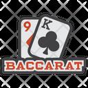 Baccarat Playing Card Blakjack Icon