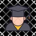 Bachelor Graduate Degree Holder Icon
