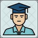 Bachelor Graduation Student Icon