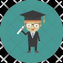 Bachelor Degree Diploma Icon