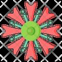 Bachelor Button Icon
