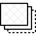 Back Layer Data Icon
