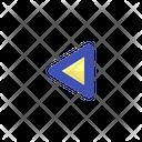 Arrow Left Chevron Icon