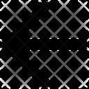 Back Arrow Direction Icon