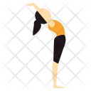 Back Bend Yoga Icon