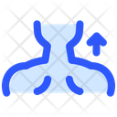 Back Neck Stretching Icon