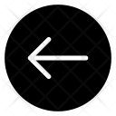 Back Arrow Arrow Icon