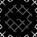 Back Share Arrow Icon