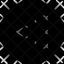 Back Arrow Left Icon