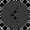 Arrow Back Circled Icon