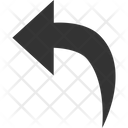 Back Arrow Previous Arrow Icon