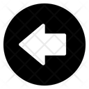 Back Arrow Directional Arrow Arrowhead Icon