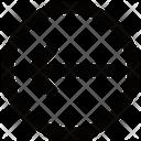 Back Arrow Circle Icon
