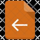 Back File Icon