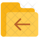 Back Folder Data Icon