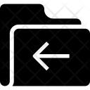 Back folder Icon