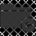 Back Move Archive Icon