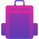 Travel Bag Back Pack Luggage Bag Icon