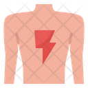 Pain Back Muscle Icon