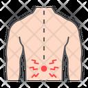 Human Back Pain Icon
