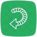 Back Series Back Direction Icon