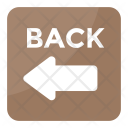Back Signaling Direction Icon