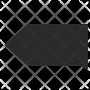 Back tag Icon