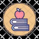 Back To School School Books Icon