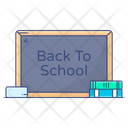 Back To School Education Learning Icon