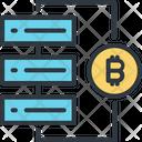 Bitcoin Back Up Computer Icon