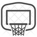 Backboard Basket Basketball Icon