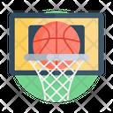 Basketball Hoop Basketball Net Backboard Icon