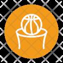 Backboard Basketball Goal Icon