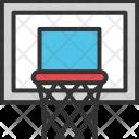 Backboard Goal Basketball Icon