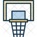 Backboard Basketball Goal Basketball Stand Icon