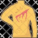 Backbone Injury Icon