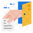Backdoor Security Hacker Icon