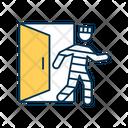 Backdoor Attack Icon