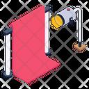 Studio Background Backdrop Chroma Key Icon