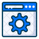 Backend Website Icon